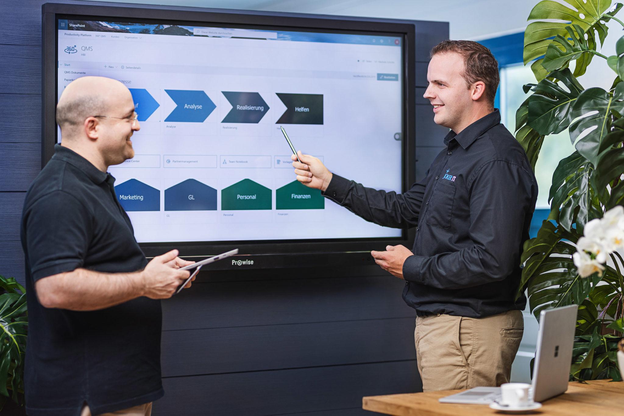 Sicherheit für ihren digitalen Arbeitsplatz, von Ist Analyse , Planung, Realisierung und ständigem Support mit Microsoft EMS